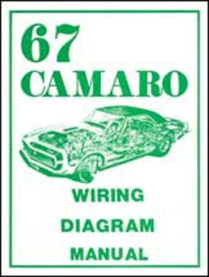 1967 Chevrolet Camaro Wiring Diagram Manual | eBay