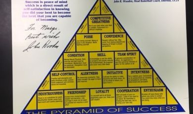 John Wooden S Pyramid Wooden Thing