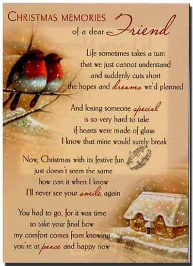 Grave Card XMAS Special Friend FREE Holder CMX15