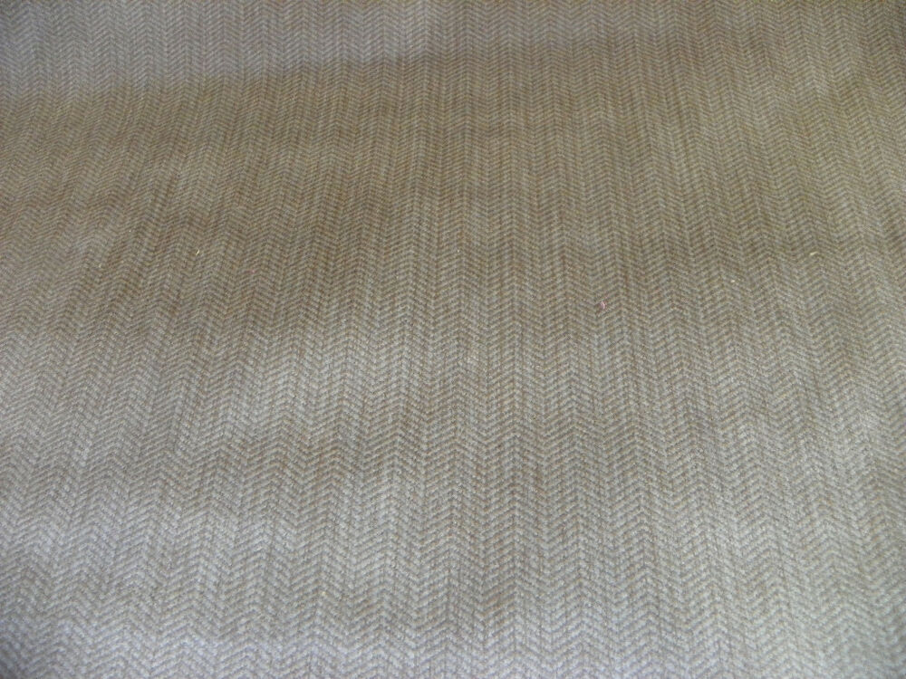 Beige Fabric White And