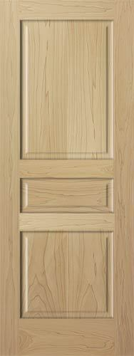 Three Panel Interior Door
