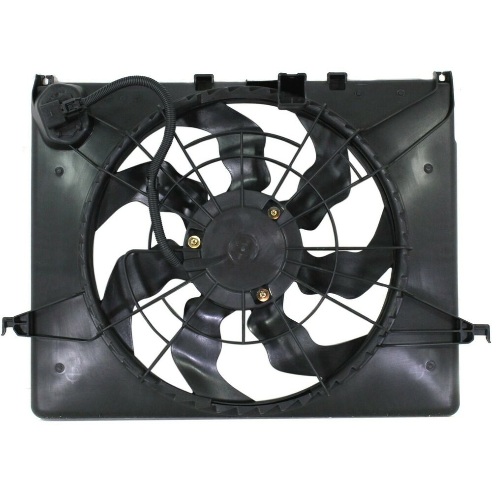 Radiator Cooling Fan For 2011 2013 Hyundai Sonata Kia