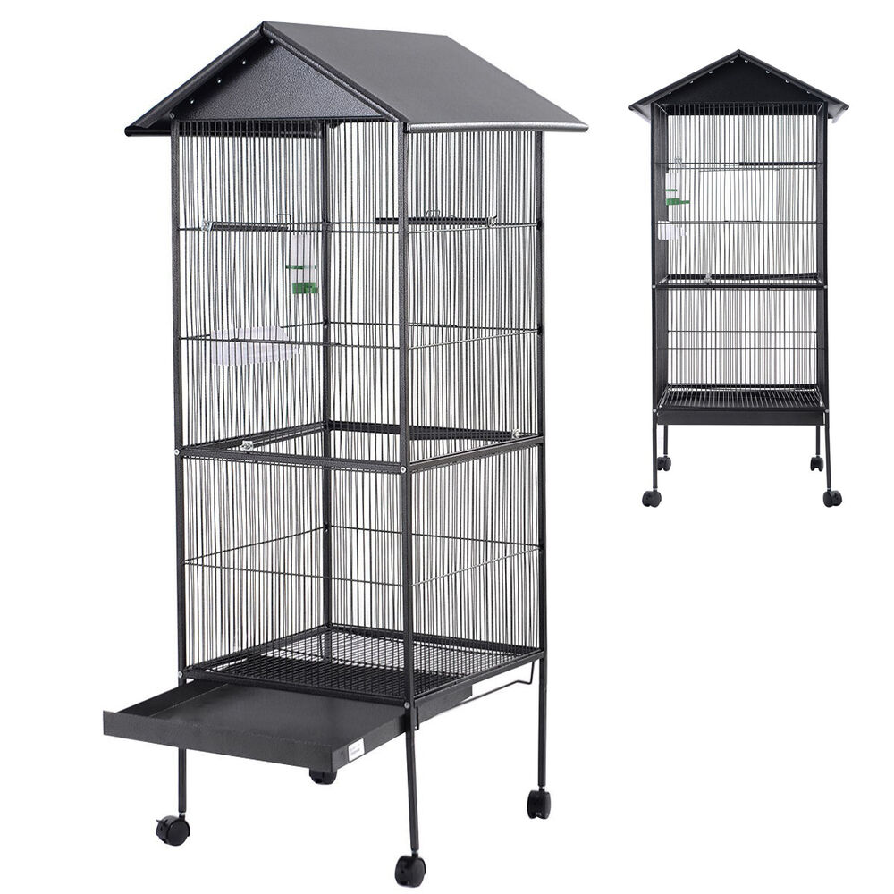 Finch Stands And Cages