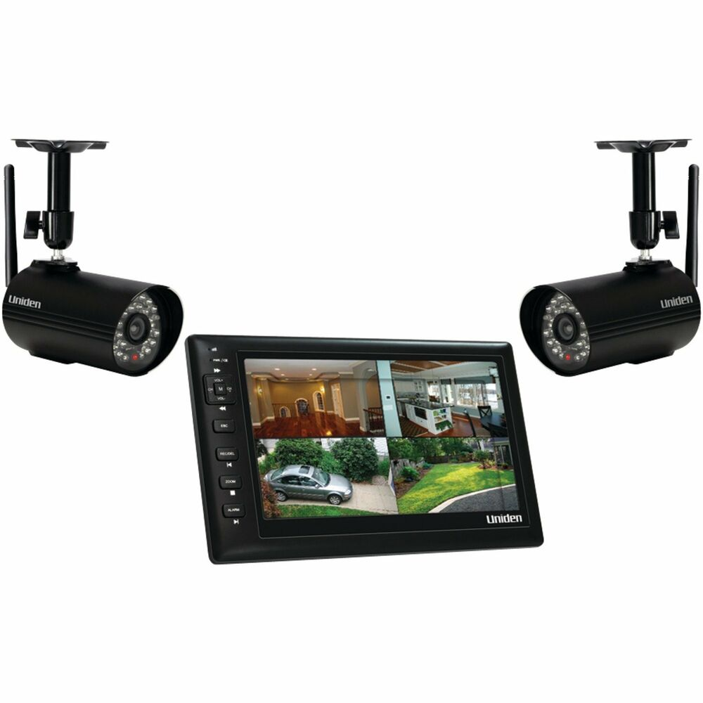 Wireless Camera And Monitor Security