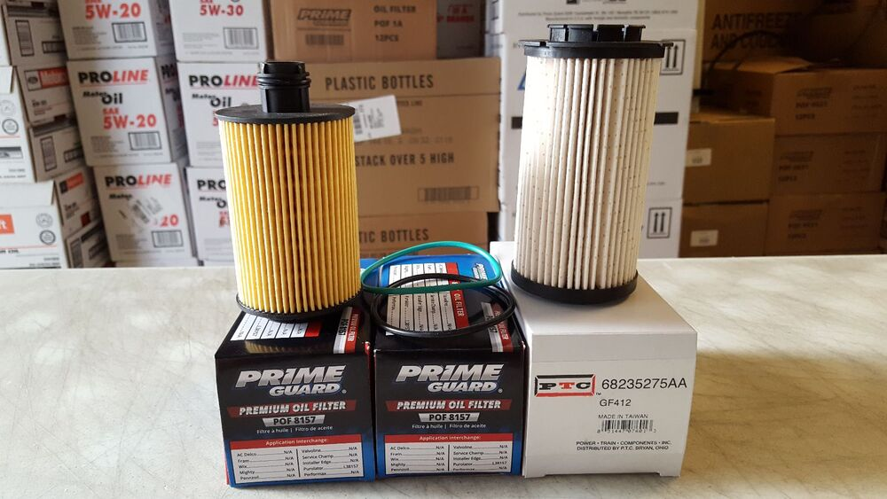 Dodge Ram 3 0 Ecosel Oil And Fuel Filter Kit