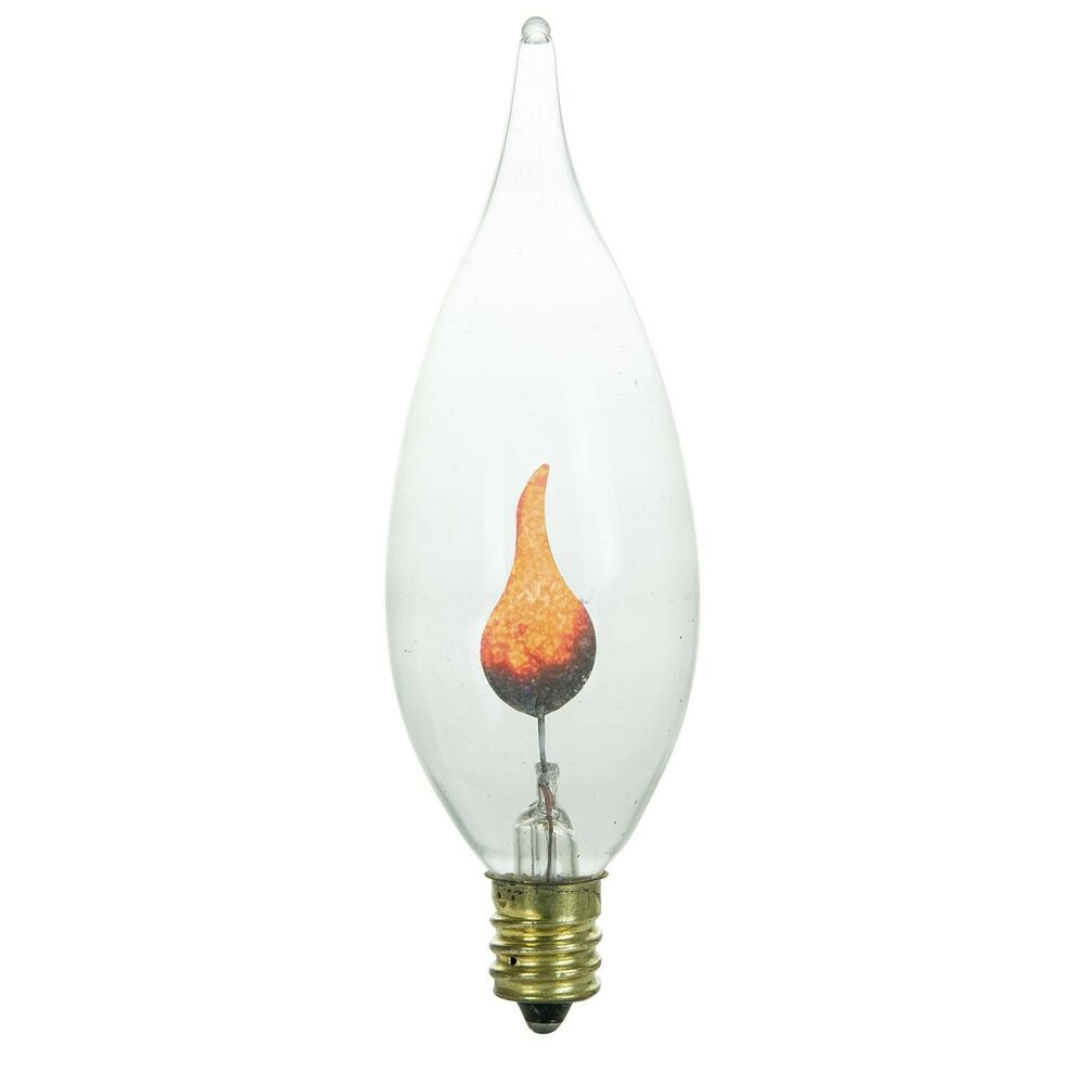 Candle Light Bulb Size