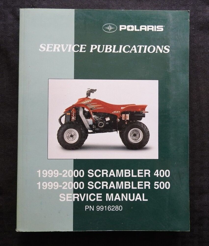 2000 Polaris Scrambler 400 Service Manual Motorview Co