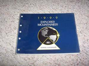 1999 Ford Explorer Electrical Wiring Diagram Manual Sport
