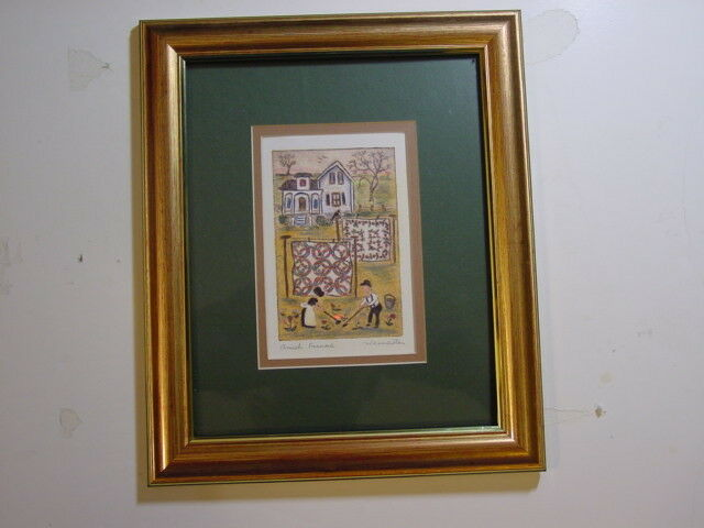 Decorative Picture Signed By Artist Jay Wennersten Ebay