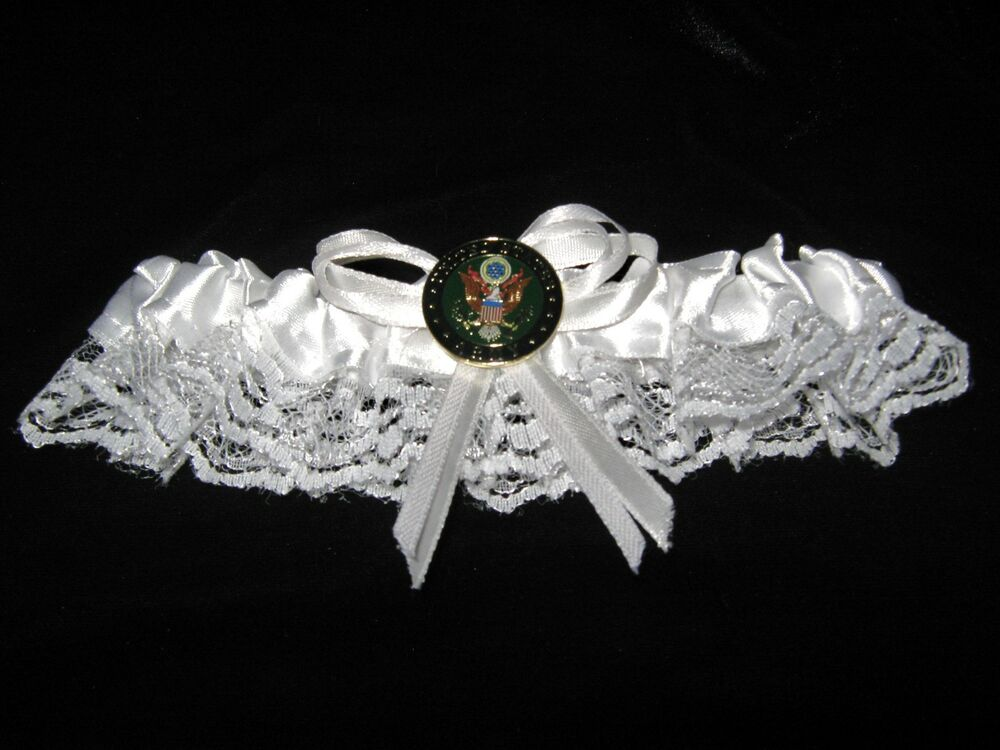 Wedding Party Ceremony Military US Army Bridal White