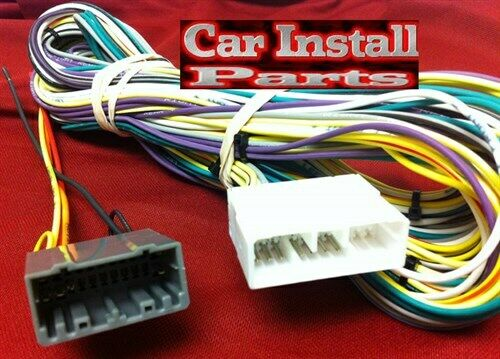 Dodge Radio Infinity Amp Bypass Wire Harness Stereo