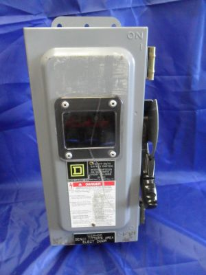 Nice Square D CH361AWK Safety Switch Disconnect 30 Amp