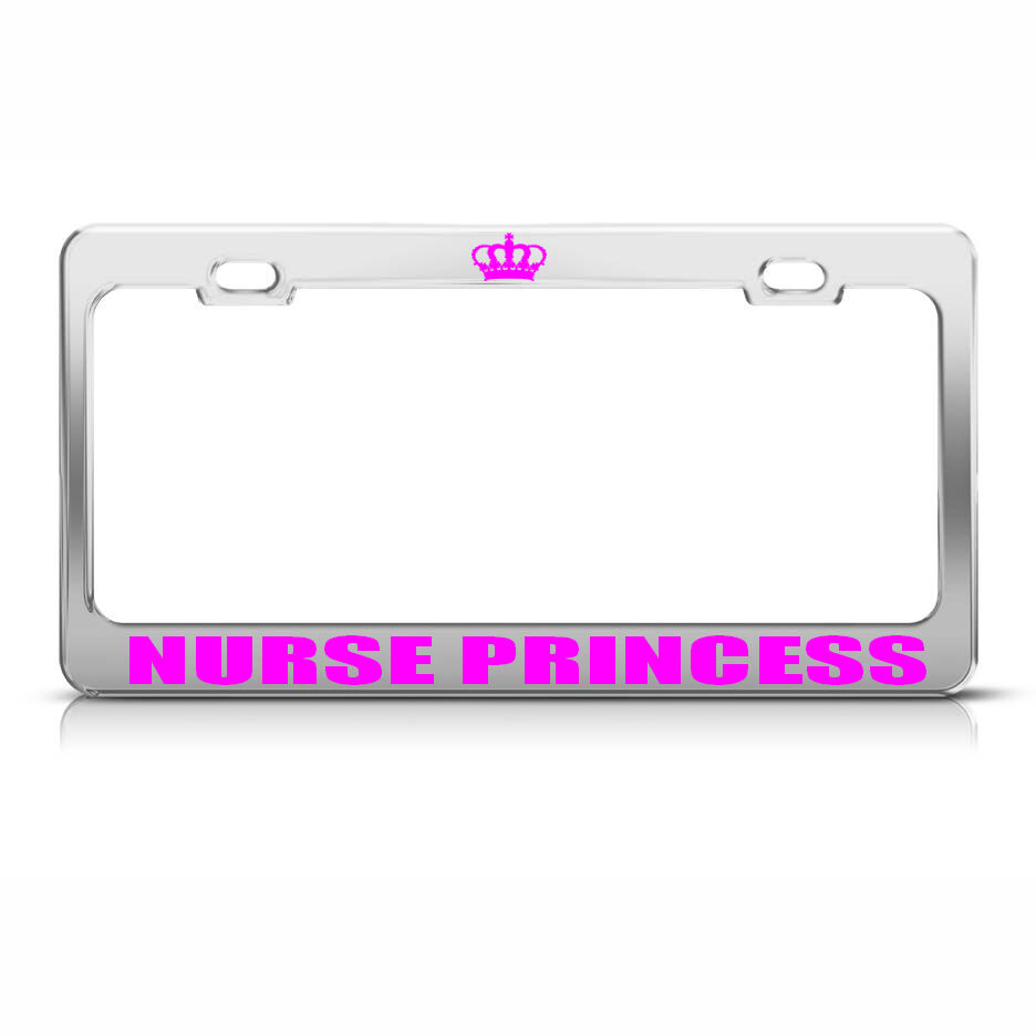 Famous Girly License Plate Frames Adornment - Ideas de Marcos ...