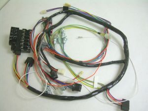 1959 Impala Belair El Camino Under Dash Wiring Harness with Fusebox Automatic | eBay