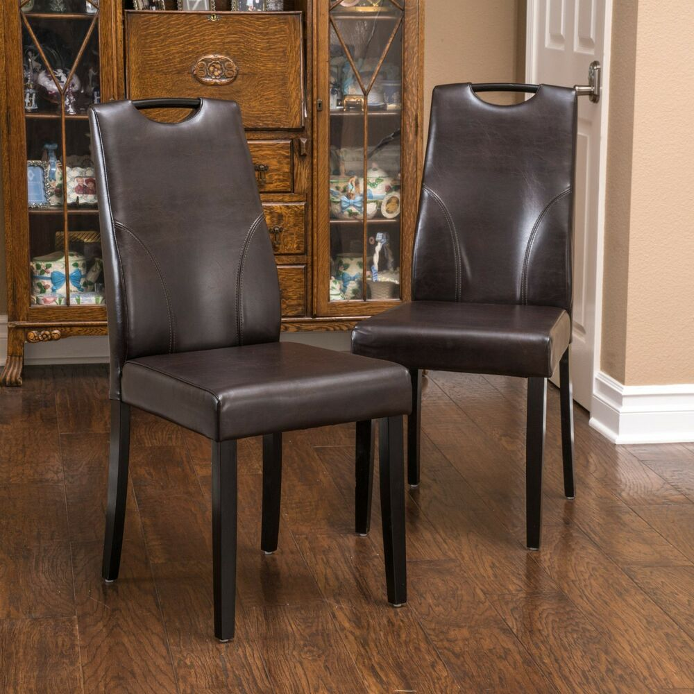 Sets Dining Leather Room Furniture