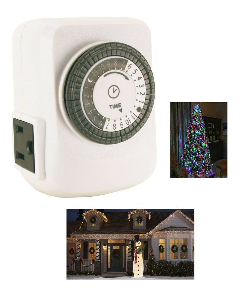 Christmas Lights Timers