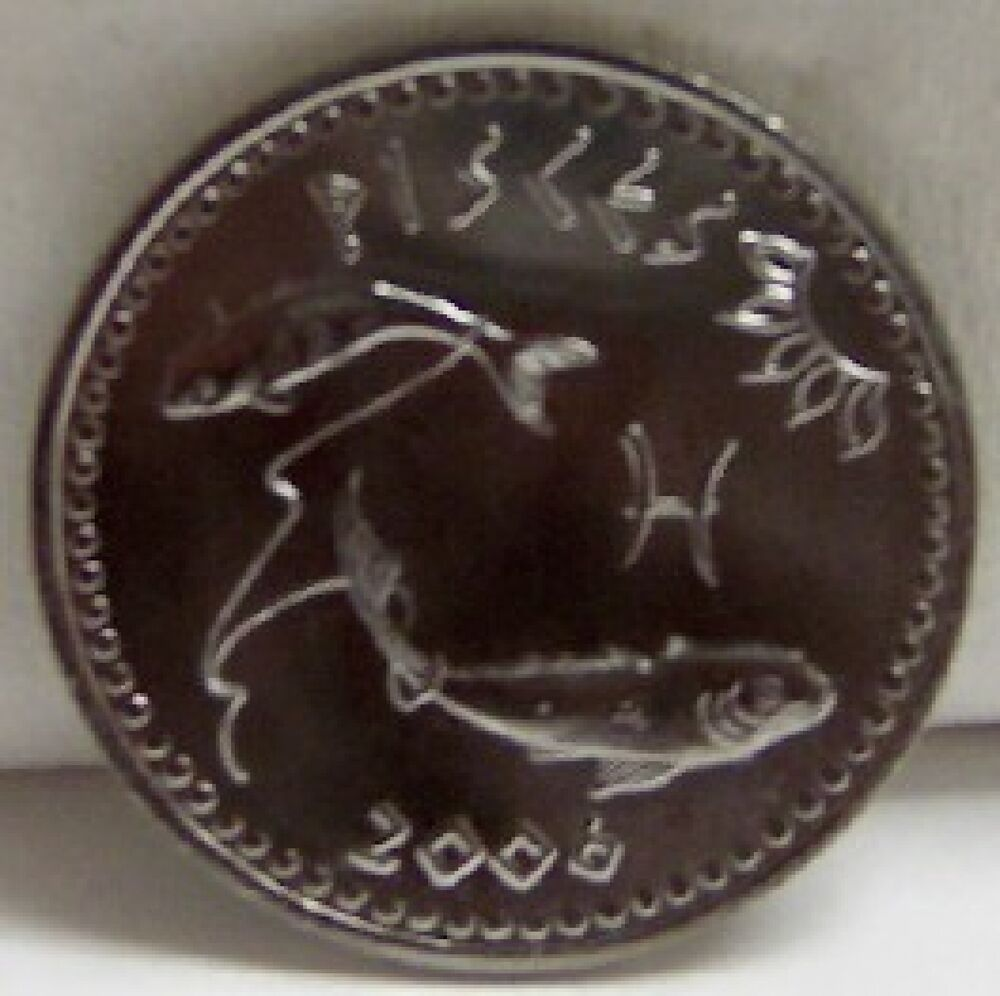 SOMALILAND PISCES FISH 12th SIGN ZODIAC BIRTHDAY COIN Uncirculated EBay