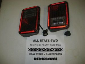 JEEP WRANGLER JK 20072015 PAIR REAR TAIL LIGHT LAMP ASSY