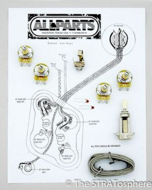 NEW Les Paul Pots Switch & Wiring Kit for Gibson Guitar