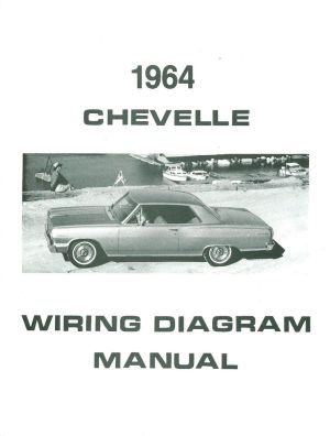 1964 64 CHEVELLEEL CAMINO WIRING DIAGRAM MANUAL | eBay