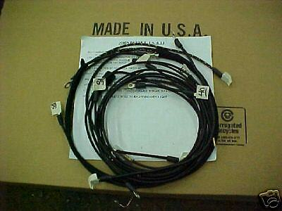 Wiring Harness For John Deere A 70 Tractor