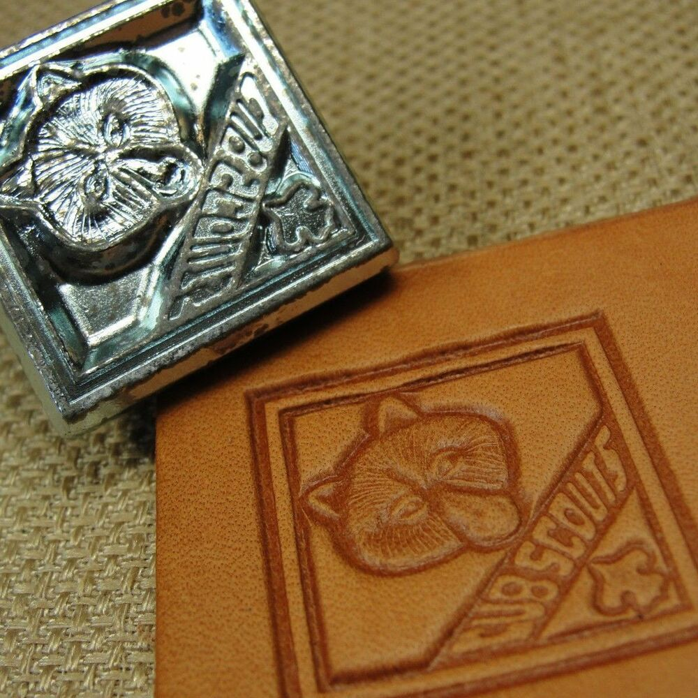 Leather Stamping Tool 3d Cub Scouts Stamp Ebay