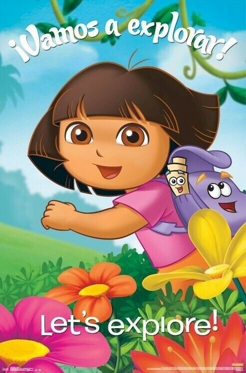 DORA THE EXPLORER VAMOS A EXPLORA 22x34 CARTOON POSTER
