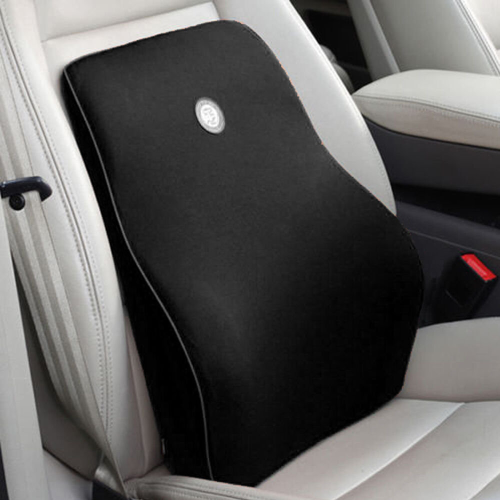 Memory Foam Car Office Home Seat Chair Lumbar Back Support