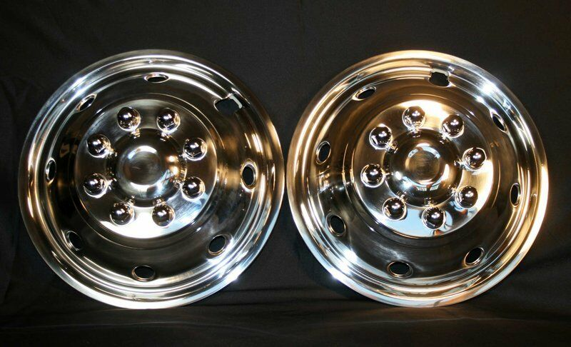 Ford E350 E450 16 Quot 8 Lug Polished Stainless Steel Wheel