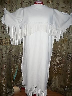 Girls Native American Indian Buckskin Dress 2T 10 U Pic EBay