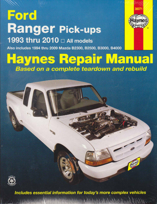 1993 Ford Ranger Owners Manualdownload