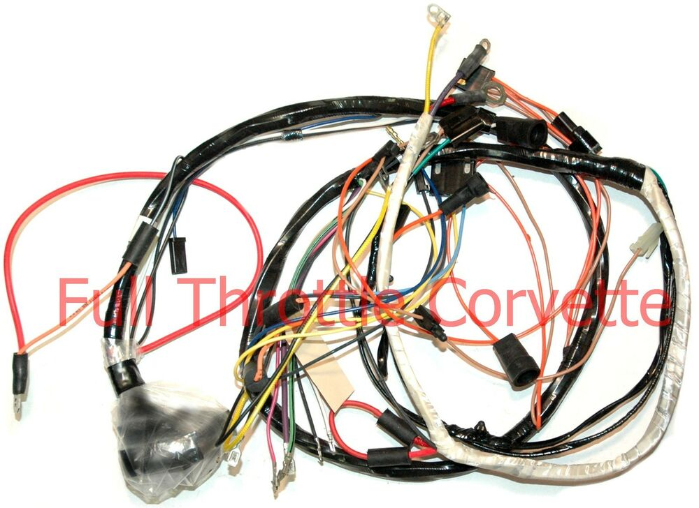Corvette Engine Wiring Harness Automatic Small Blo