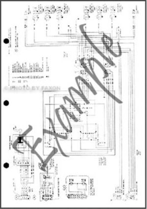 1989 LTD Crown Victoria Grand Marquis Wiring Diagram Ford