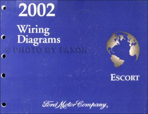 2002 Ford Escort and ZX 2 ZX2 Wiring Diagram Manual OEM Electrical Schematics | eBay