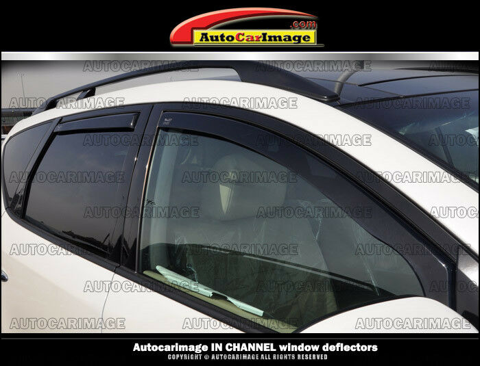 Car Window Wind Deflectors Channel