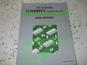 2009 Toyota CAMRY HYBRID Electrical Wiring Diagram