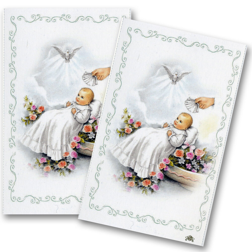 Customised Christening Cards
