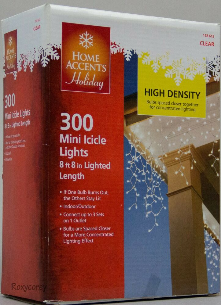 Home Accents Holiday 300 Mini Lights