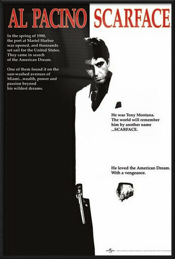 24 X 36 Posters Scarface