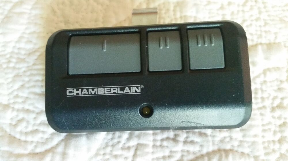 Chamberlain Liftmaster Garage And Gate Remote Opener 953ESTD 893LM TX7359 EBay