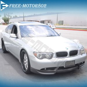 For 0205 BMW 7Series E65 E66 750 760 Front Bumper Lip Spoiler Bodykit PU ACS
