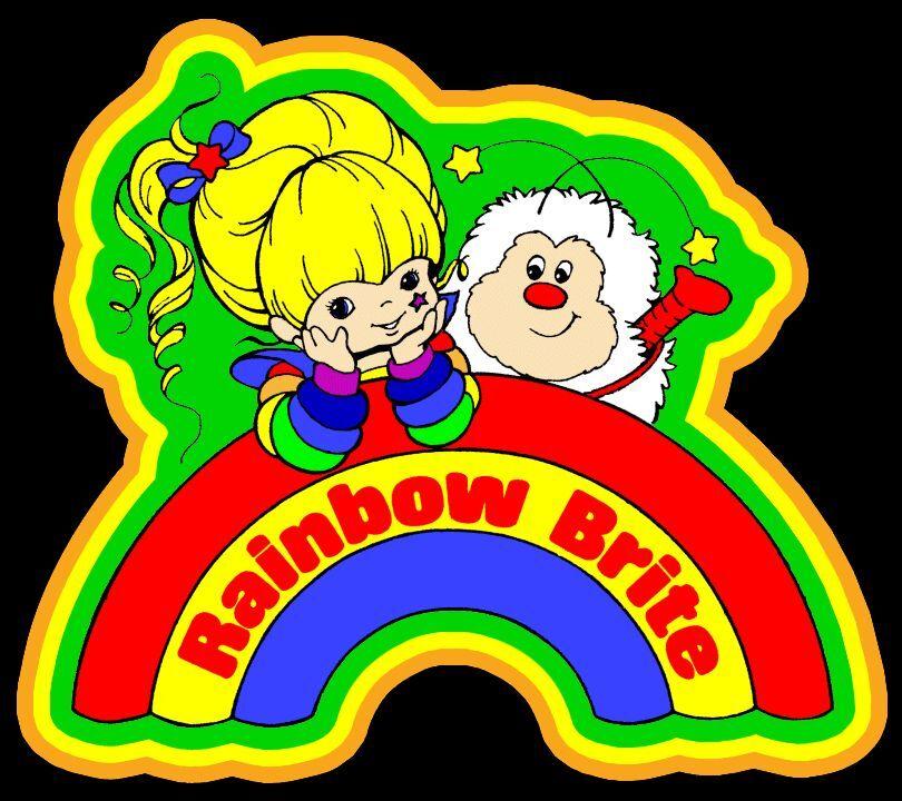 80s classic cartoon rainbow brite custom tee any size any color