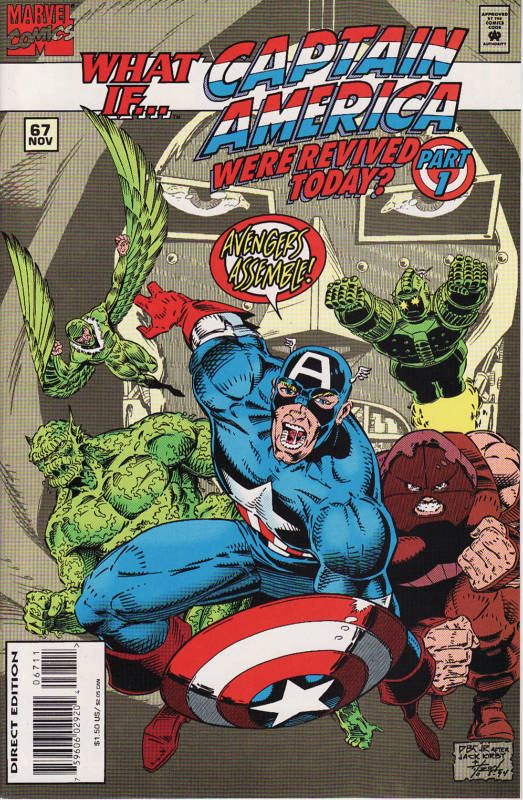 What If... Captain America Was Revived Today? Part 1 Comic Book Review
