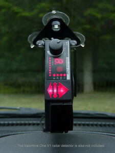 Vertical Bracket For Valentine One V1 Radar Detector EBay