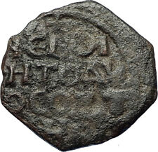 CRUSADERS of Antioch Tancred Ancient 1101AD Byzantine Time Coin St Peter i69650