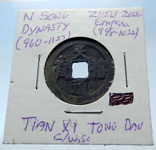998AD CHINESE Northern Song Dynasty Antique ZHEN ZONG Cash Coin of CHINA i72683