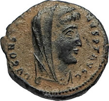 Divus Saint CONSTANTINE I the GREAT 347AD Authentic Ancient Roman Coin i67191