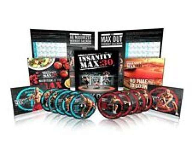 Beachbody Shaun T Insanity Max  Min Strength Cardio Workout  Dvd Program