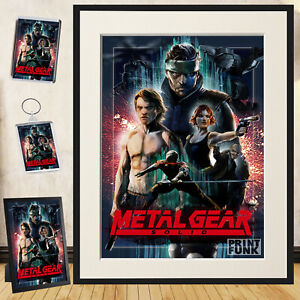 metal gear solid poster products for