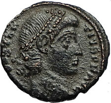 CONSTANTIUS II Authentic Ancient 347AD Roman Coin of Antioch w WREATH i67731